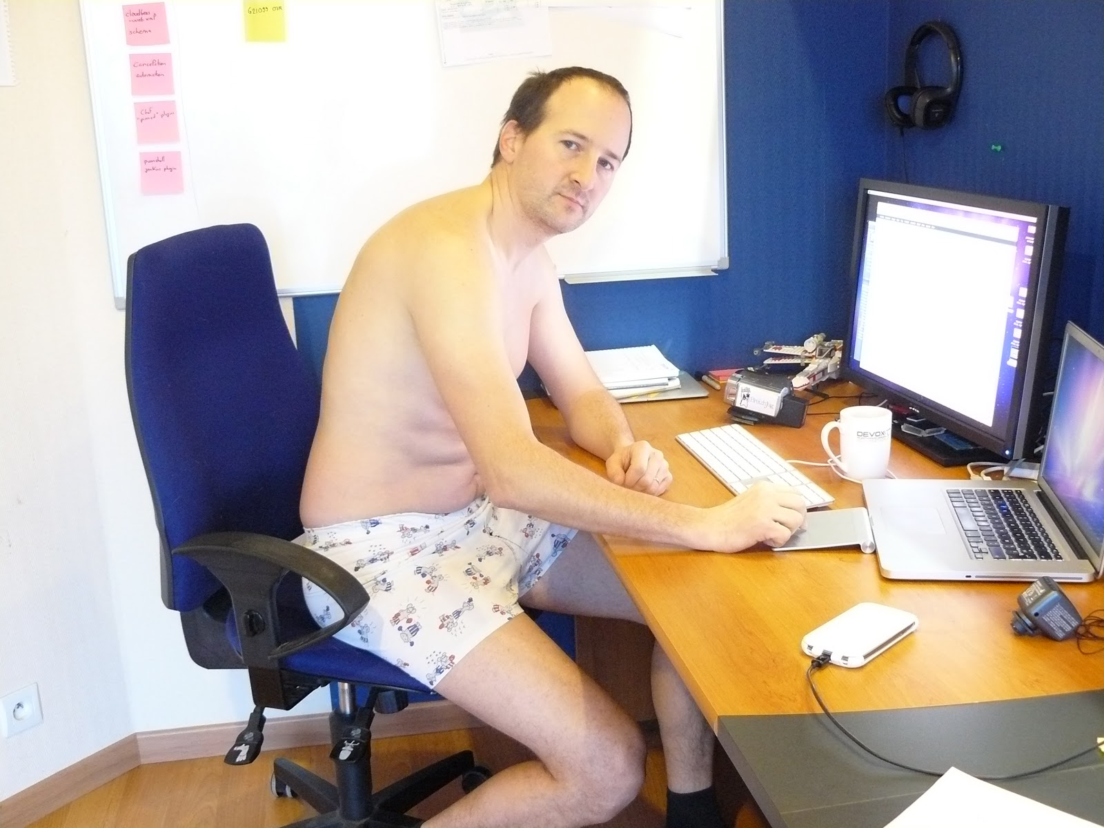 Image result for working no pants on